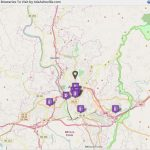 Asheville Breweries Beer Tour Map