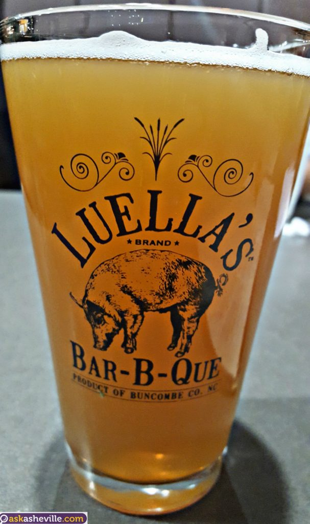 Asheville Craft Beer at Luella's BBQ