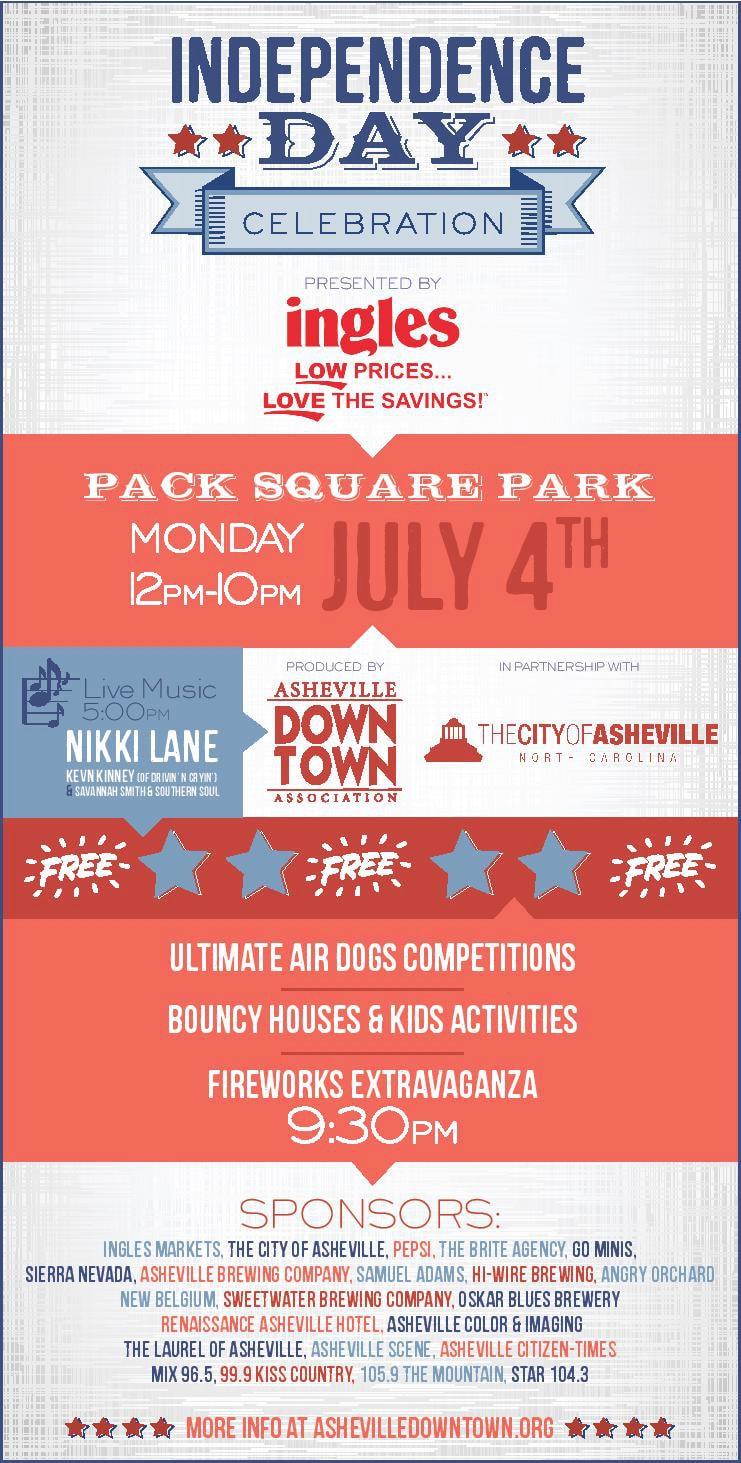 Asheville 4th of July Celebration - Independence Day
