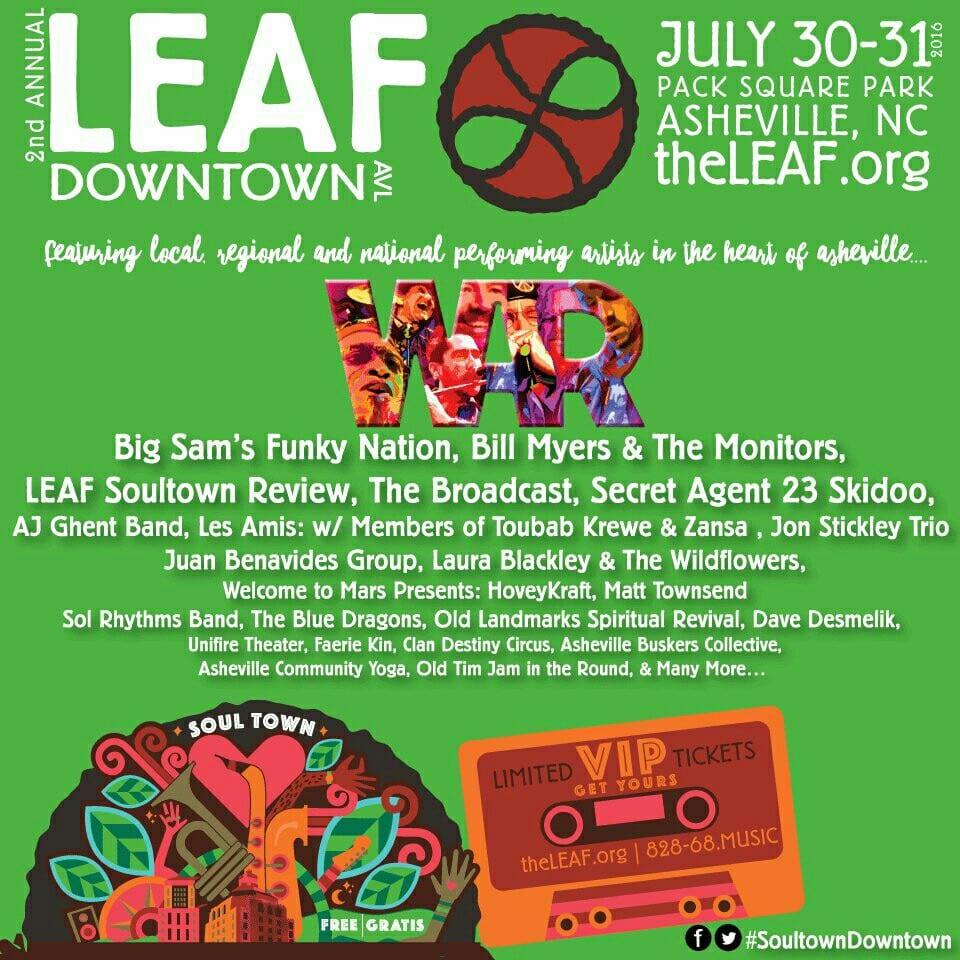 LEAF Festival in Downtown Asheville