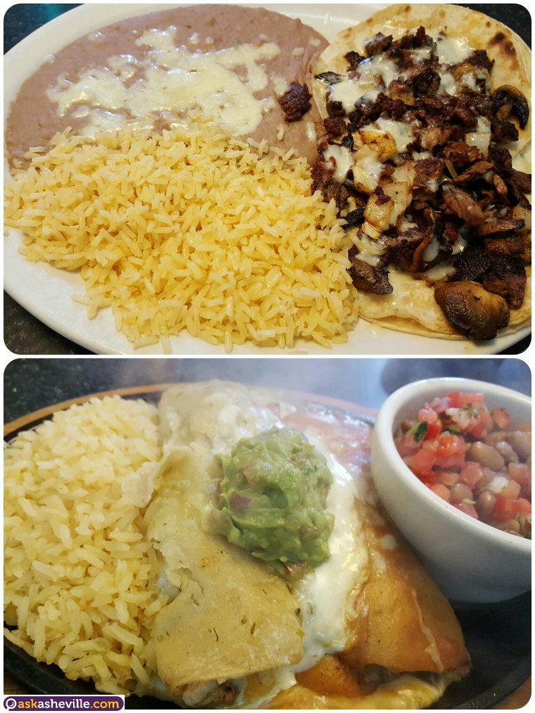 Sizzling Enchiladas and Tacos in Asheville