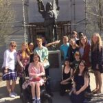 Gardner Webb Students Tour Asheville