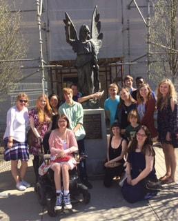 Gardner Webb Students Tour Asheville