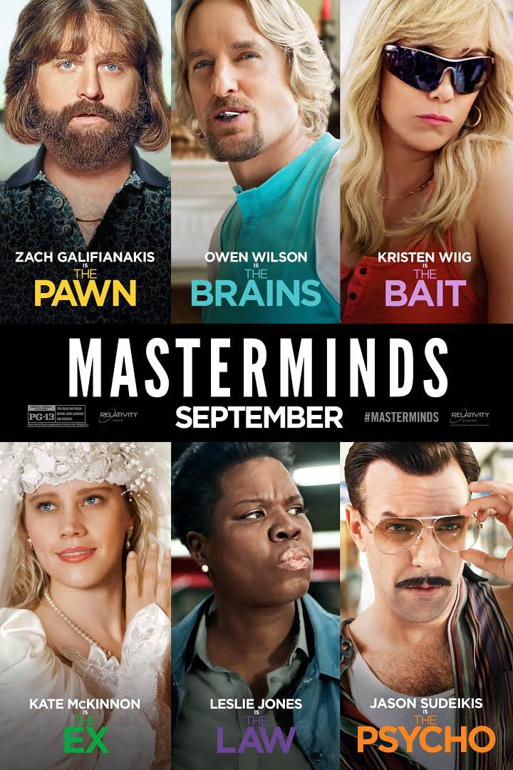 Masterminds Movie Filmed In Asheville