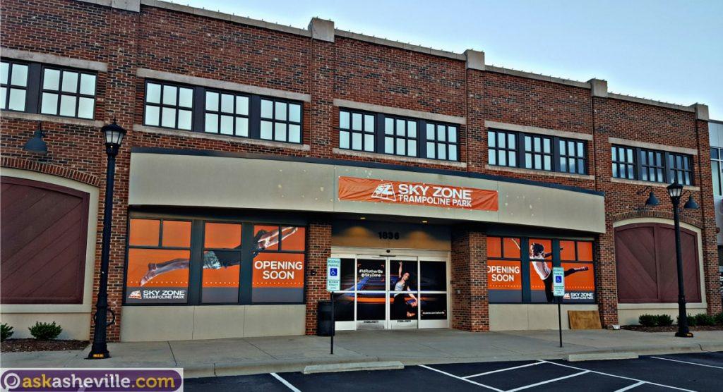 Sky Zone Trampoline Park Asheville NC