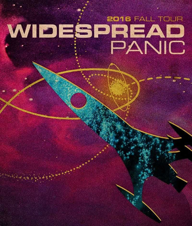 Widespread Panic Asheville NC 2016