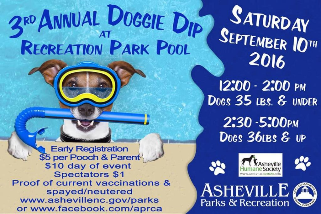 Asheville Doggie Dip 2016