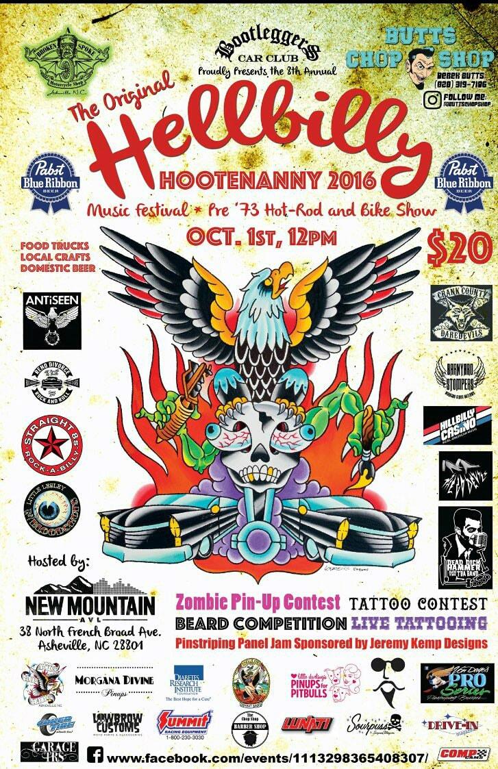 Hellbilly Hootenanny in Asheville NC
