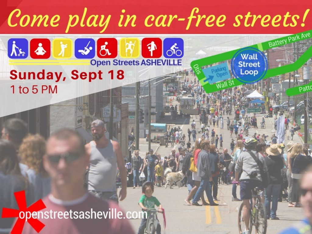 Open Streets Asheville NC