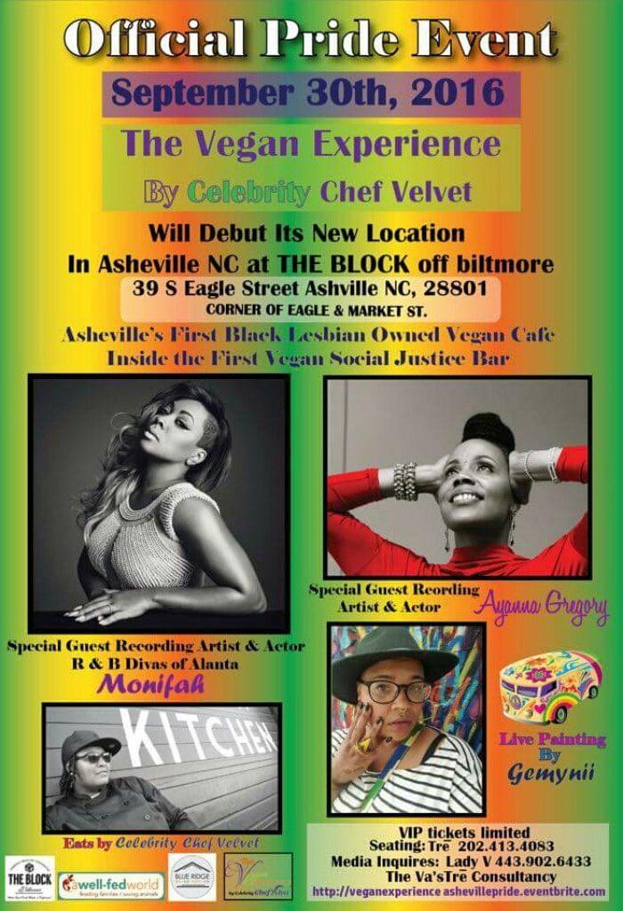 Vegan Experience by Chef Velvet in Asheville NC