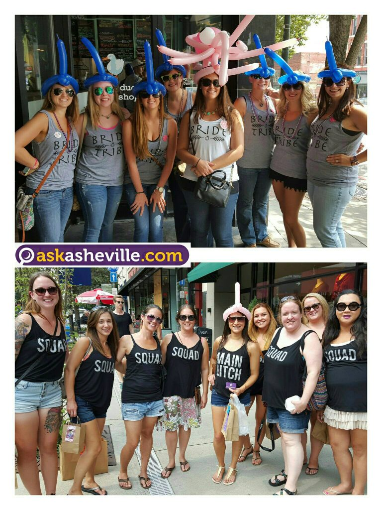 Asheville Bachelorette Party Fun