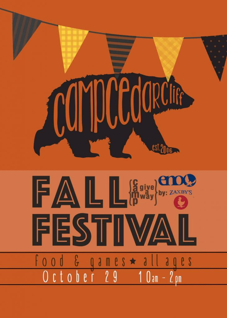 Camp Cedar Cliff Fall Festival 2016