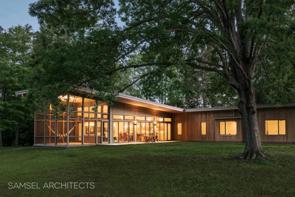 Columbus NC Hammock House by Samsel Architects