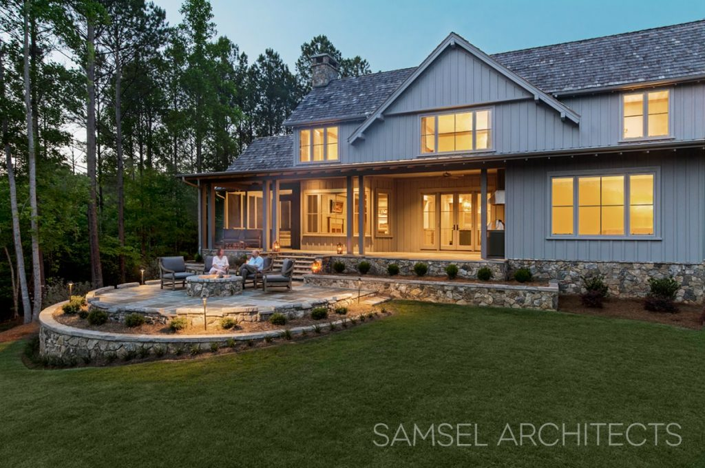 Lake Keowee Home by Samsel Architects