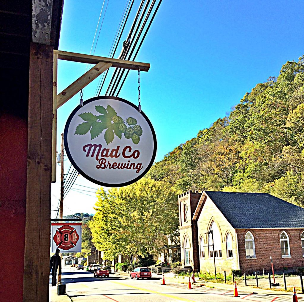 Mad Co Brewing in Marshall NC