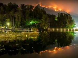 Lake Lure Wildfire 2016