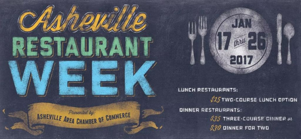 Asheville Restaurant Week 2017