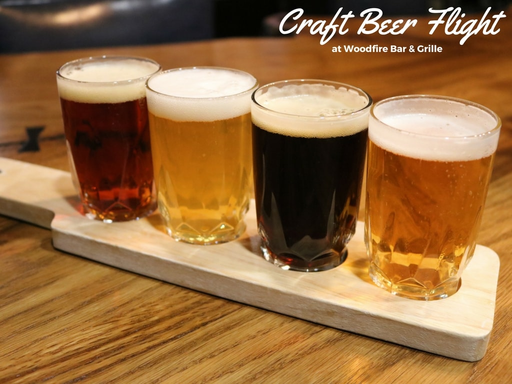 Craft Beer at Woodfire Grille in East Asheville