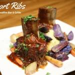 Short Ribs at Woodfire Grille in East Asheville